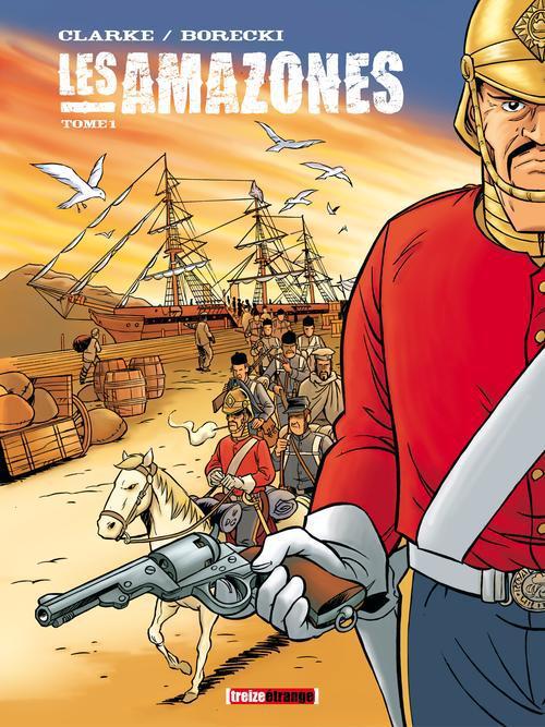LES AMAZONES - TOME 01