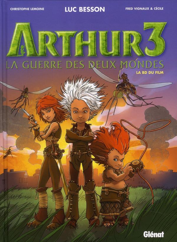 ARTHUR3 - LA GUERRE DES DEUX MONDES - T3