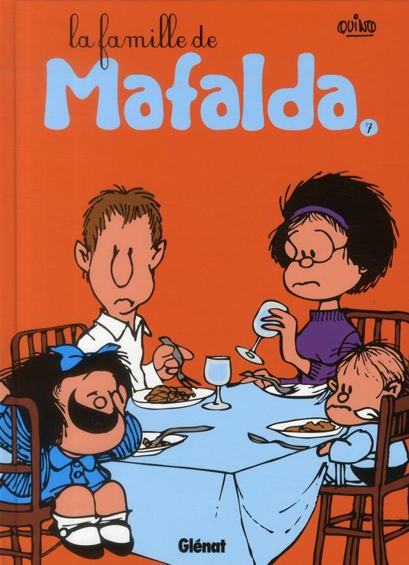 MAFALDA - TOME 07 NE - LA FAMILLE DE MAFALDA