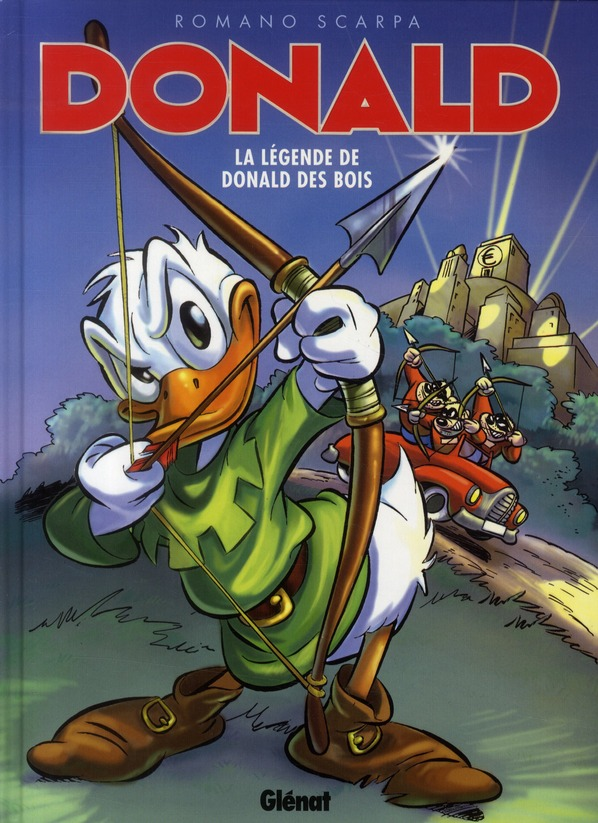 DONALD - LA LEGENDE DE DONALD DES BOIS
