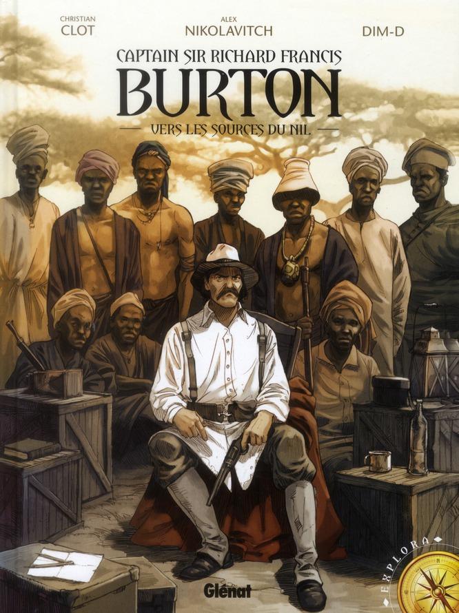 BURTON - TOME 01 - VERS LES SOURCES DU NIL