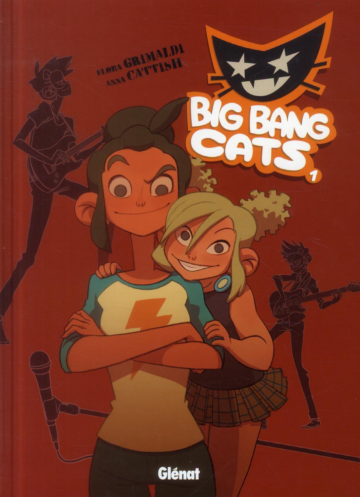 BIG BANG CATS - TOME 01 - NAISSANCE D'UN GROUPE