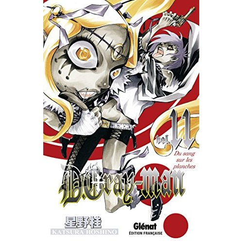 D.GRAY-MAN - EDITION ORIGINALE - TOME 11 - DU SANG SUR LES PLANCHES