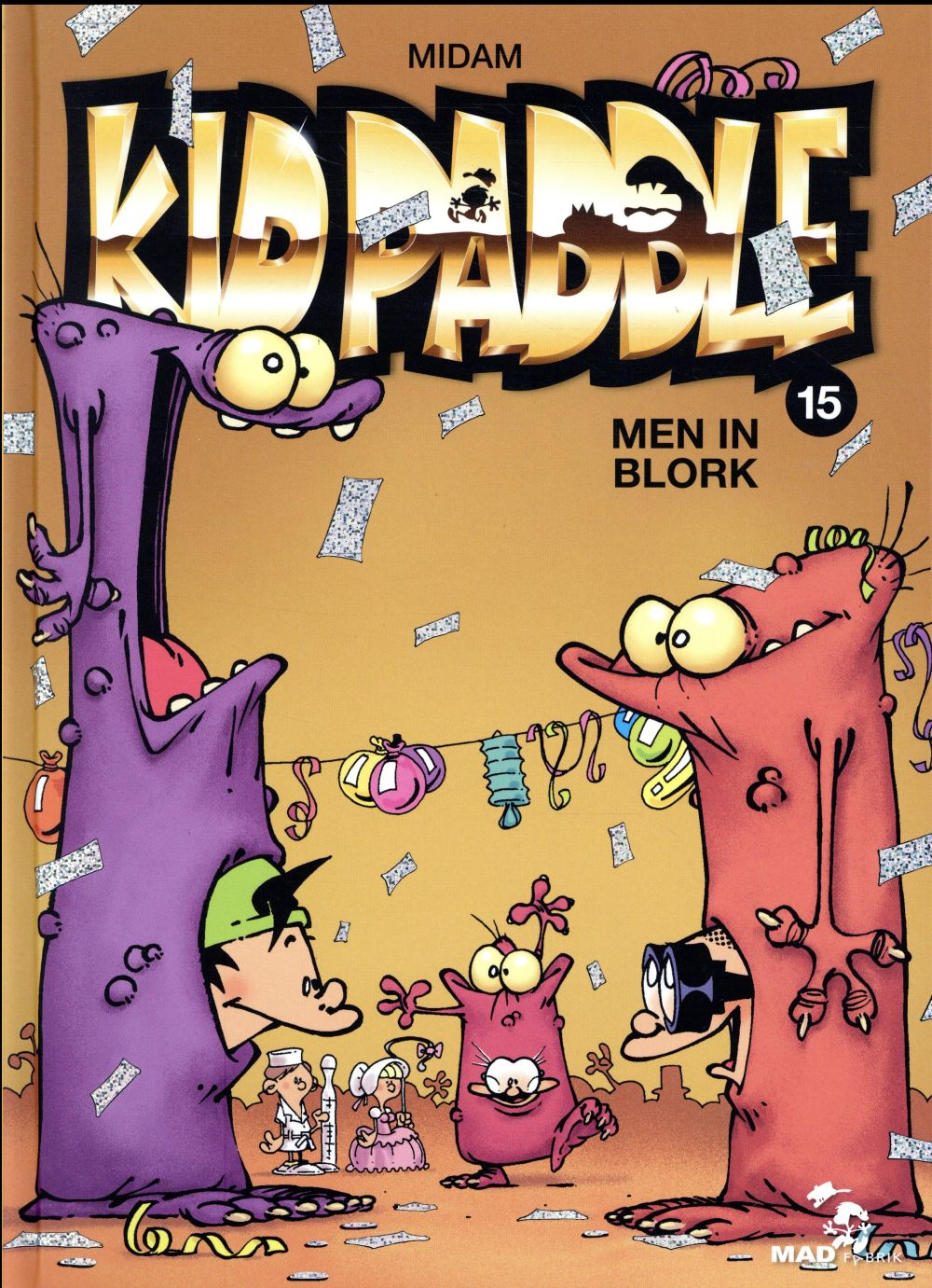 KID PADDLE - TOME 15 - MEN IN BLORK