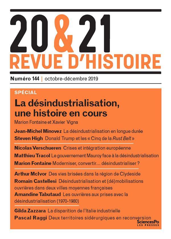 20 ET 21 REVUE D'HISTOIRE 144