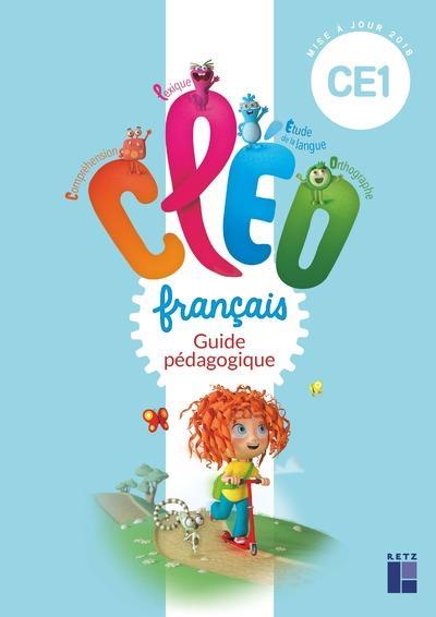 CLEO CE1 - GUIDE PEDAGOGIQUE + CD-ROM - PROGRAMME 2018