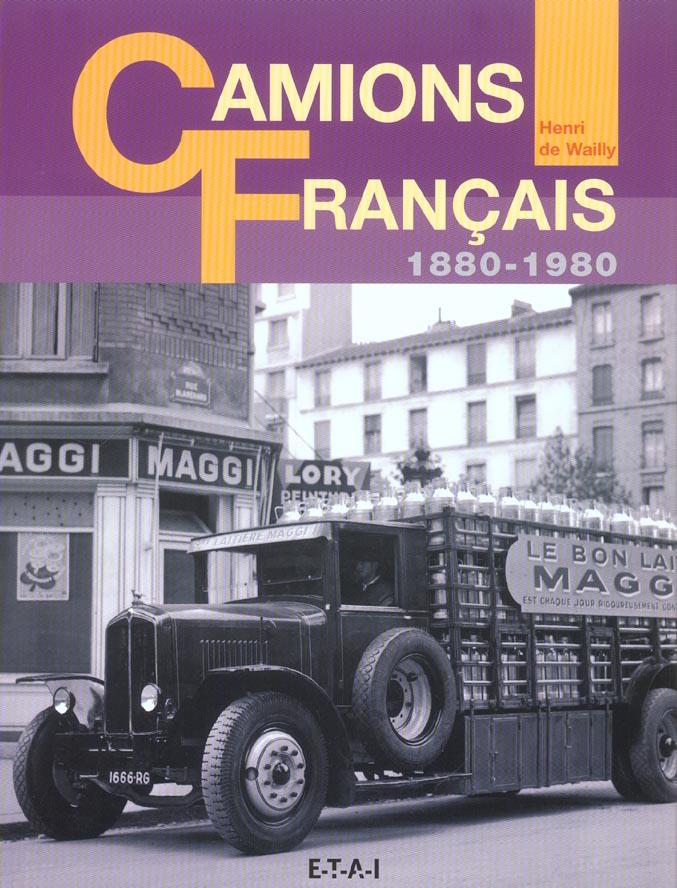 CAMIONS FRANCAIS 1880-1980 VITRINE