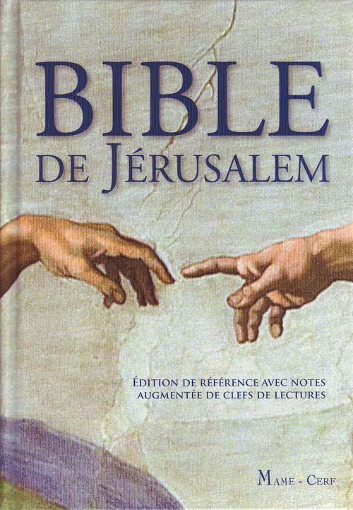 BIBLE DE JERUSALEM NOUVELLE COUVERTURE
