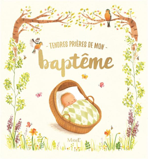 TENDRES PRIERES DE MON BAPTEME