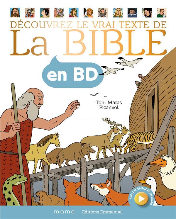 LA BIBLE EN BD - GF RELIE
