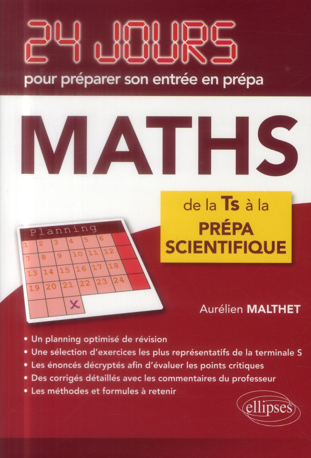MATHS DE LA TS A LA PREPA SCIENTIFIQUE