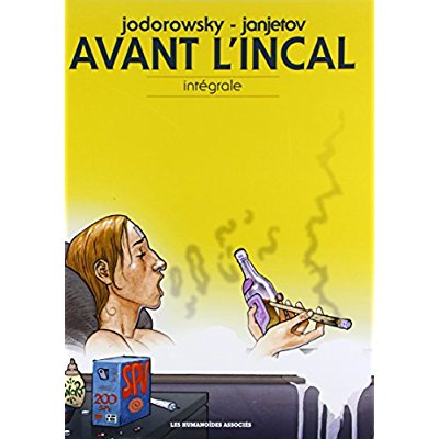 AVANT L'INCAL INTEGRALE 2014