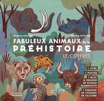 FABULEUX ANIMAUX DE LA PREHISTOIRE - LE COFFRET