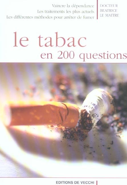 TABAC EN 200 QUESTIONS (LE)