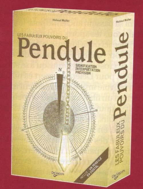 FABULEUX POUVOIRS DU PENDULE COFFRET PENDULE EN CRISTAL + LIVRE (LES)