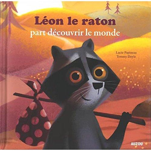 LEON LE RATON PART DECOUVRIR LE MONDE (GRAND FORMAT)
