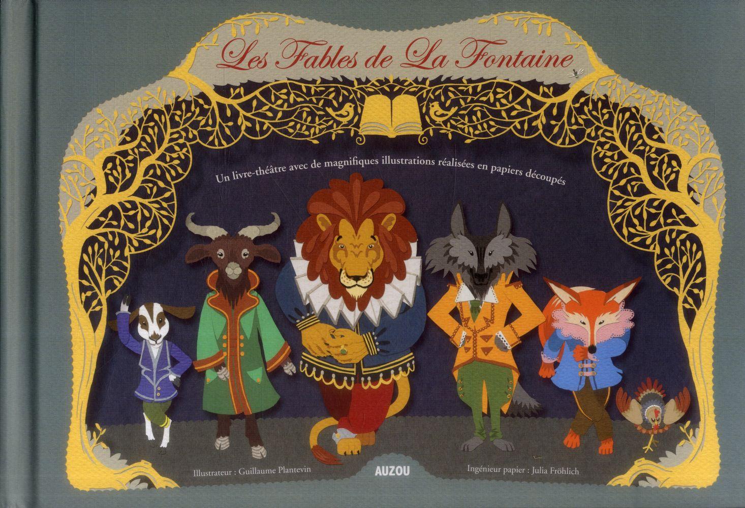FABLES DE LA FONTAINE 2 (COLL. PAPIERS DECOUPES)