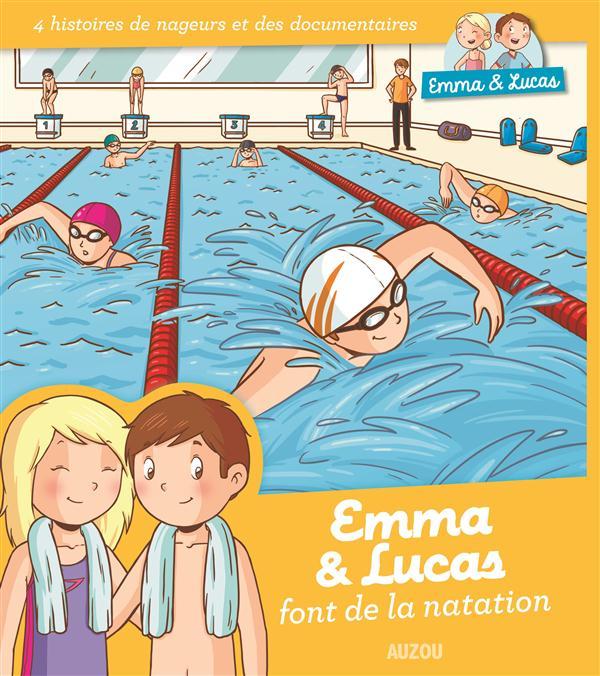 EMMA ET LUCAS - LA NATATION