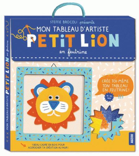 PETIT LION EN FEUTRINE (COLL. MON TABLEAU D'ARTISTE)