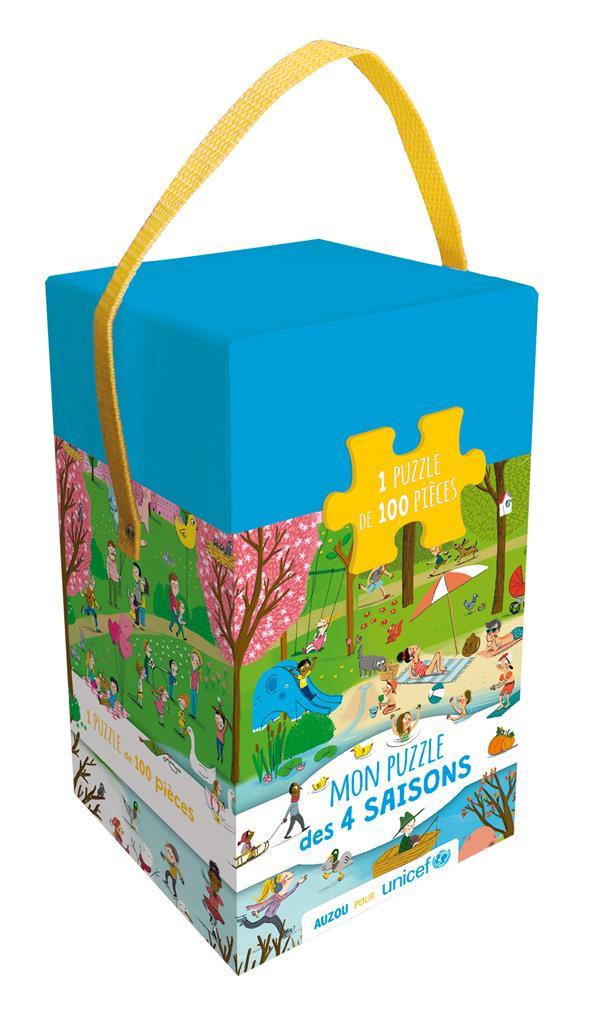 MON PUZZLE DES 4 SAISONS AVEC UNICEF (COLL. BOITE PUZZLE)