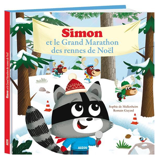 SIMON ET LE GRAND MARATHON DES RENNES DE NOEL (COLL. MES GRANDS ALBUMS)