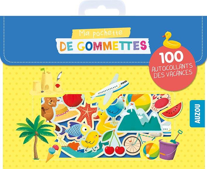 MA POCHETTE DE GOMMETTES - 100 AUTOCOLLANTS DES VACANCES