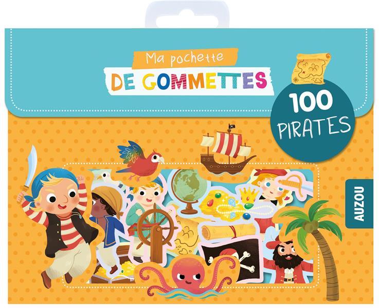 MA POCHETTE DE GOMMETTES - 100 PIRATES