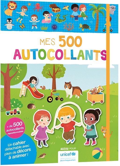 MES 500 AUTOCOLLANTS (AVEC UNICEF)