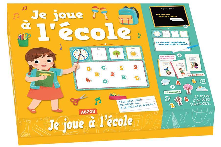 JE JOUE A L'ECOLE (COLL. MES JEUX COMME LES GRANDS)