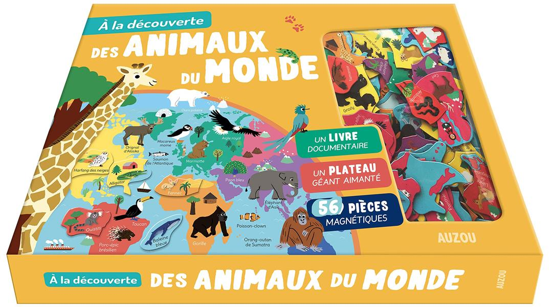A LA DECOUVERTE DES ANIMAUX DU MONDE - NOUVELLE EDITION