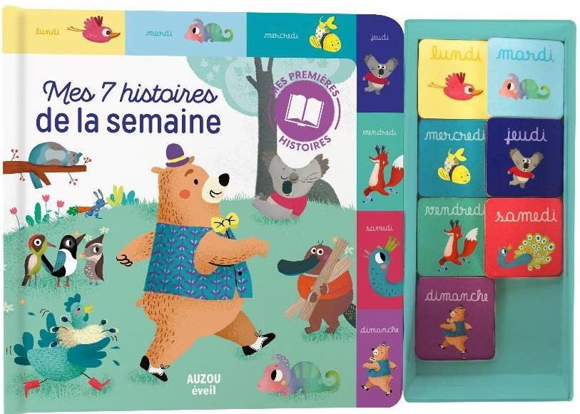 MES 7 HISTOIRES DE LA SEMAINE - COFFRET MEMORY (MES PREMIERES HISTOIRES)
