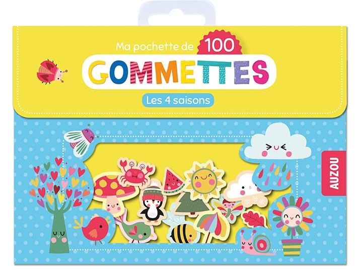 MA POCHETTE DE 100 GOMMETTES - LES 4 SAISONS