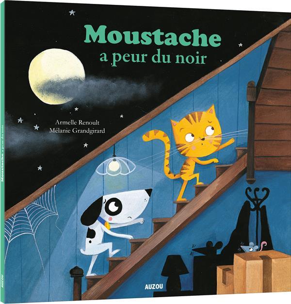 MOUSTACHE A PEUR DU NOIR - TOME 5