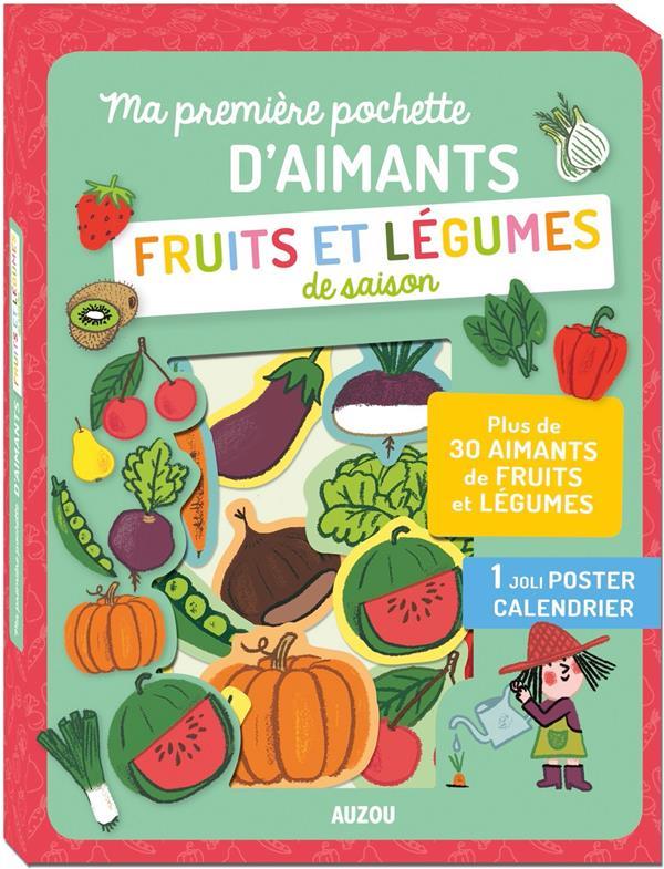 MA PREMIERE POCHETTE D'AIMANTS - FRUITS ET LEGUMES DE SAISON