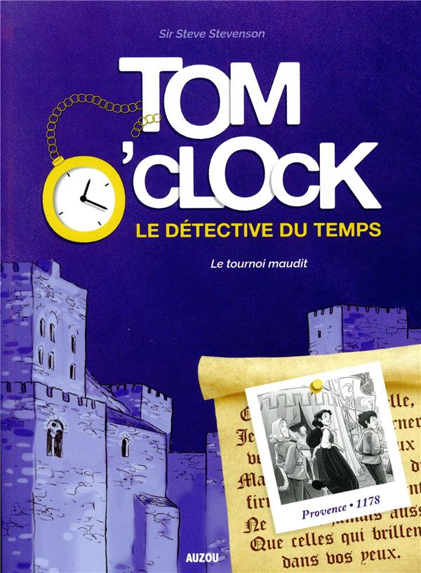 TOM O'CLOCK TOME 4 LE TOURNOI MAUDIT