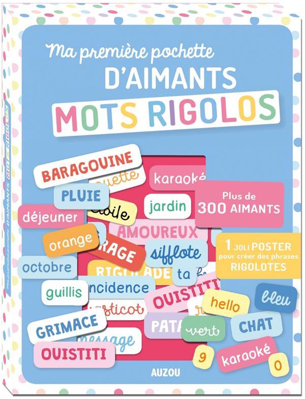 MA PREMIERE POCHETTE D'AIMANTS - MOTS RIGOLOS