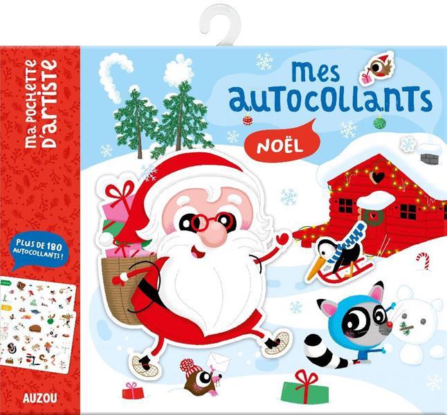 MES AUTOCOLLANTS - NOEL (NOUVELLE EDITION) - PLUS DE 180 AUTOCOLLANTS !
