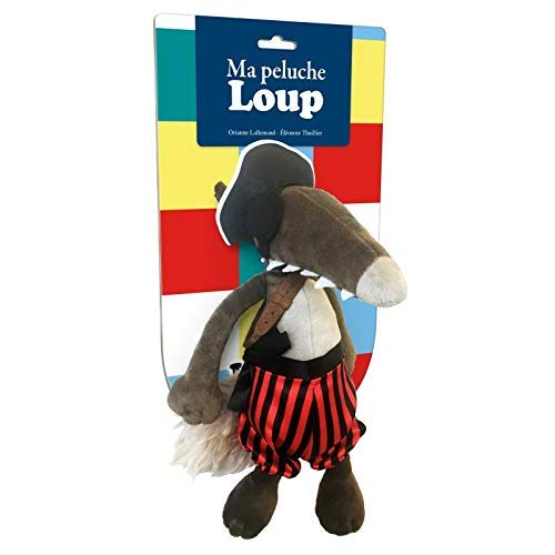 LA PELUCHE LOUP PIRATE