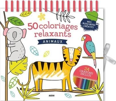 MES 50 COLORIAGES RELAXANTS - ANIMAUX