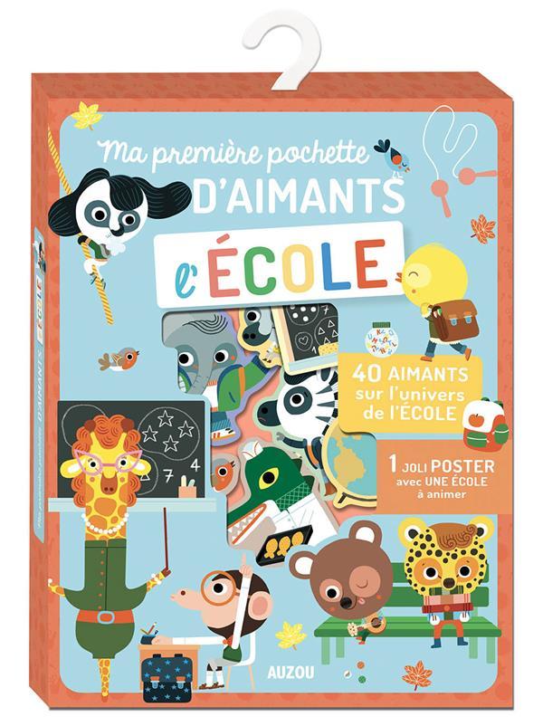 MA POCHETTE D'AIMANTS - L'ECOLE