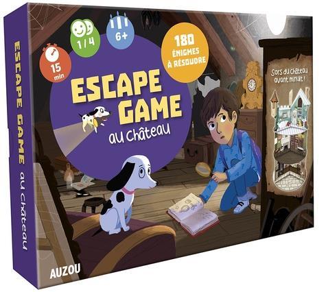 GRAND JEU - ESCAPE GAME AU CHATEAU (NE)