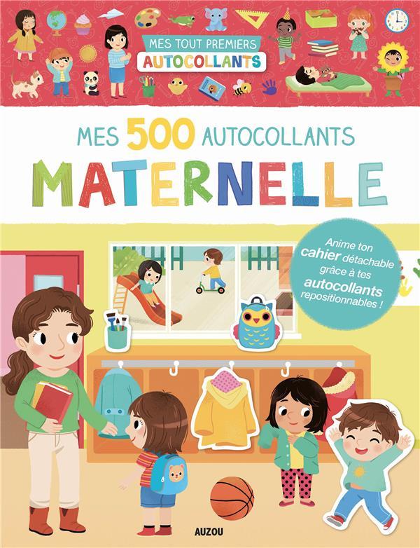 MES 500 AUTOCOLLANTS - MATERNELLE
