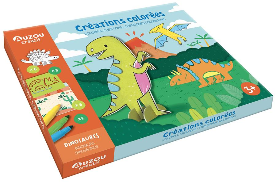 CREATIONS COLOREES - DINOSAURES