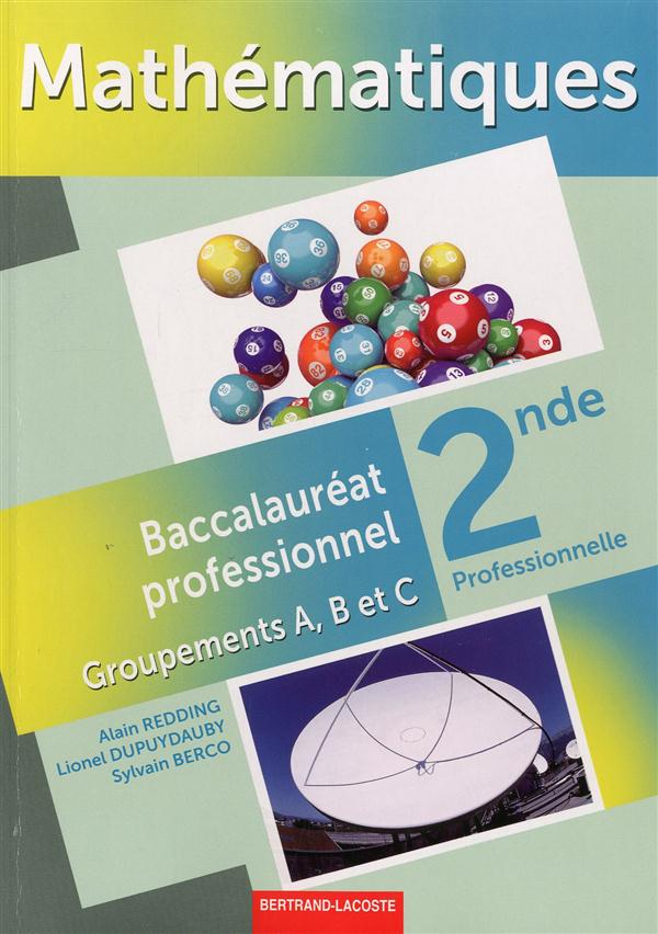 MATHS 2DE PROF. GROUPEMENTS A, B ET C