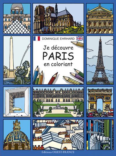 JE DECOUVRE PARIS EN COLORIANT