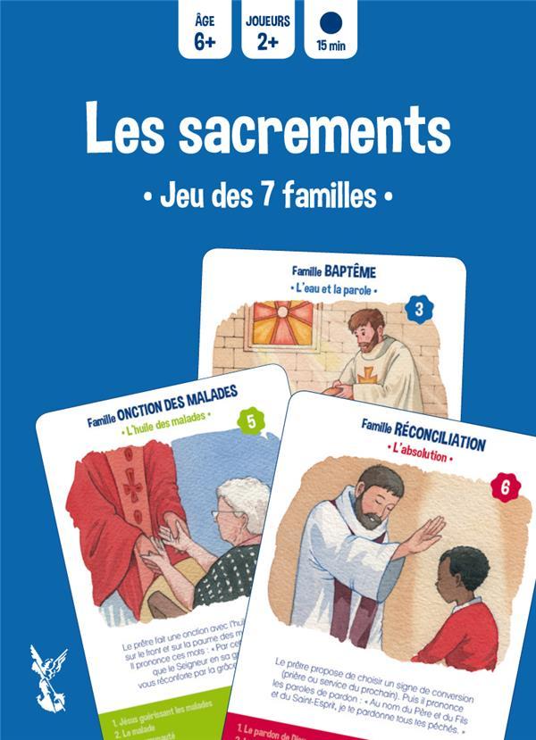 LES SACREMENTS - JEU DES 7 FAMILLES