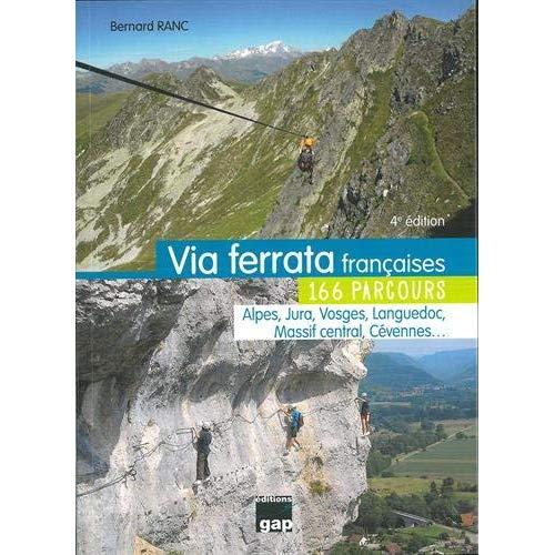 VIA FERRATA FRANCAISES 166 PARCOURS - 4ED