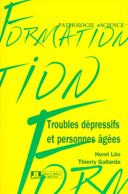 TROUBLES DEP ET PERS AGEES