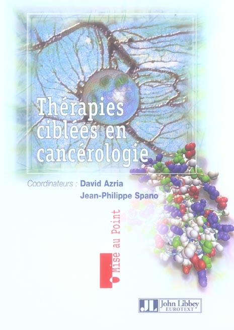 THERAPIES CIBLEES EN CANCEROLOGIE