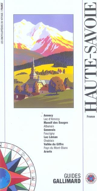 HAUTE-SAVOIE - ANNECY, GENEVOIS, LAC LEMAN, PAYS DU MONT-BLANC, ARAVIS